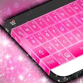 Pink Keyboard Theme icon