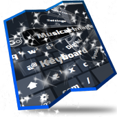 Musical images Keyboard Design icon