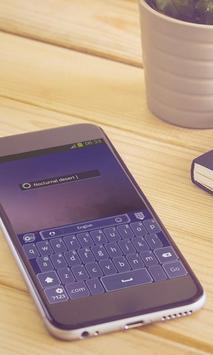Nocturnal desert Keyboard screenshot 2