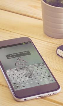 Arctic weather Keyboard Design apk screenshot