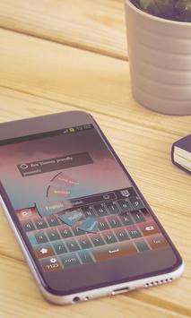 Early sunrise Keyboard Design apk screenshot