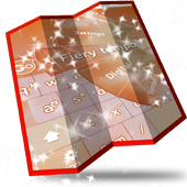 Fiery tempo Keyboard Design icon