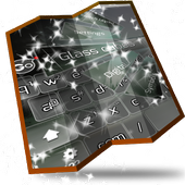 Glass cubes Keyboard Design icon