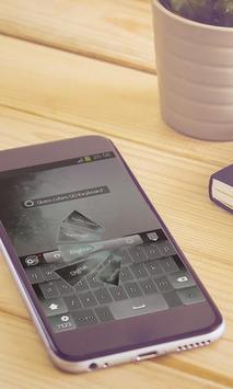 Glass cubes Keyboard Design screenshot 1