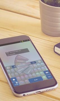 Glitter box Keyboard Design apk screenshot