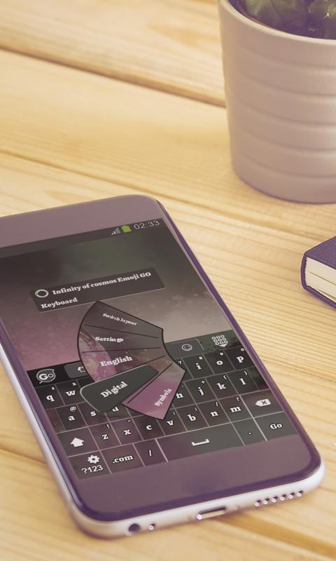 Infinity Of Cosmos Keyboard For Android Apk Download