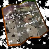 Jupiter sunset Keyboard Design icon