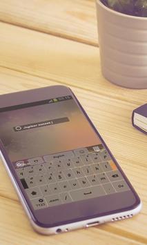 Jupiter sunset Keyboard Design apk screenshot