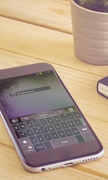 Purple peony Keyboard Design apk screenshot