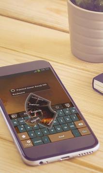 Painted tower Keyboard Design apk screenshot
