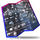The Milky way Keyboard Design icon