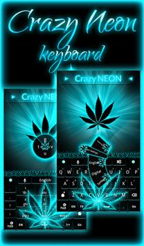 Crazy Neon Keyboard poster