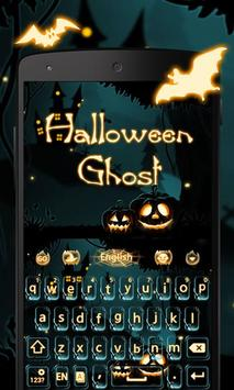 Halloween Ghost Keyboard Theme poster