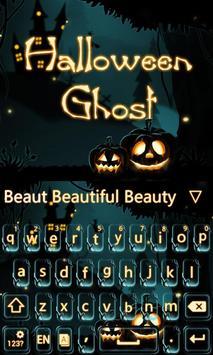 Halloween Ghost Keyboard Theme apk screenshot