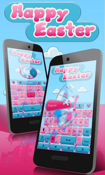 Happy Easter Go Keyboard Theme poster