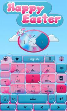 Happy Easter Go Keyboard Theme apk screenshot