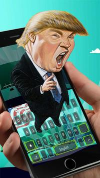 Trump Keyboard Theme apk screenshot