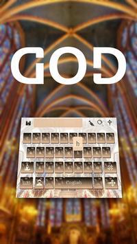Jesus Keyboard Theme apk screenshot