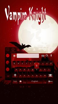Vampire Keyboard Theme poster