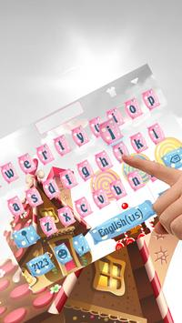 Candy Keyboard Theme poster