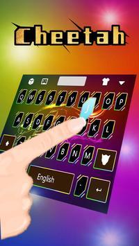 Cheetah Keyboard Theme apk screenshot