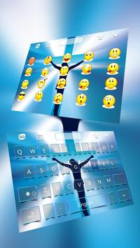 Crucifix Keyboard Theme poster