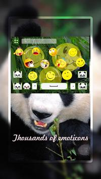Cute Panda Keyboard Theme apk screenshot