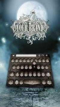 Gothic Keyboard Theme screenshot 2