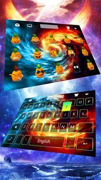 Ice and Fire Keyboard Theme apk screenshot