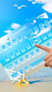 Summer Keyboard Theme poster