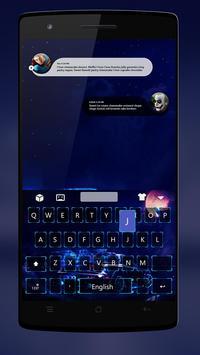 Neon Car Keyboard Theme screenshot 1