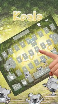 Koala Keyboard Theme poster