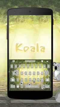 Koala Keyboard Theme screenshot 1