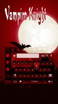 Vampire Keyboard Theme poster