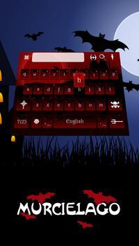 Vampire Keyboard Theme screenshot 1