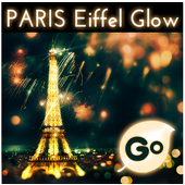 GO Keyboard Eiffel Paris Glow icon