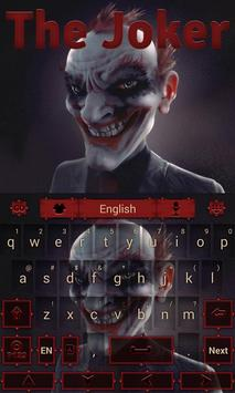 Joker GO Keyboard Theme apk screenshot