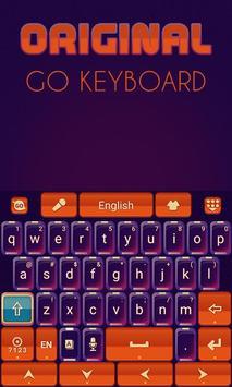Original Keyboard Theme &Emoji screenshot 4