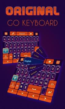 Original Keyboard Theme &Emoji poster