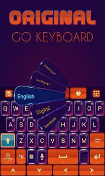 Original Keyboard Theme &Emoji screenshot 1