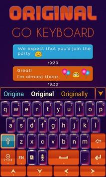 Original Keyboard Theme &Emoji screenshot 3