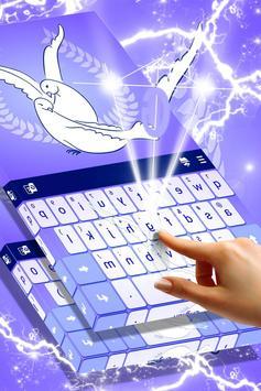 Love Doves Keyboard Theme screenshot 2