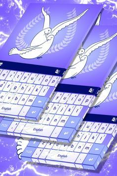 Love Doves Keyboard Theme screenshot 4