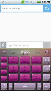 GO Keyboard Ladies theme apk screenshot