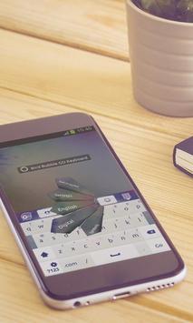 Bird Bubble Keyboard Art apk screenshot