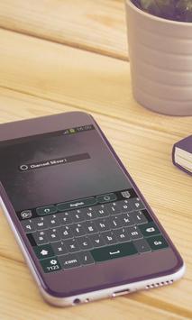 Charcoal Silver Keyboard Art apk screenshot