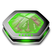 Clover leafs Keyboard Art icon