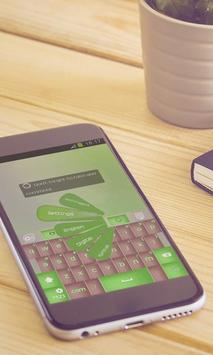 Clover leafs Keyboard Art apk screenshot