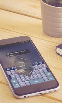 Galaxy call Keyboard Art apk screenshot