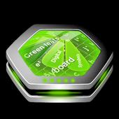 Green leafs Keyboard Art icon